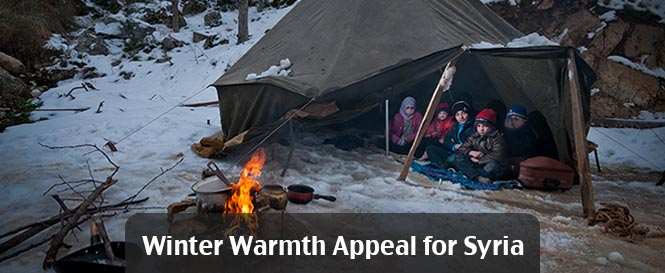 Winter Warmth Appeal for Syria